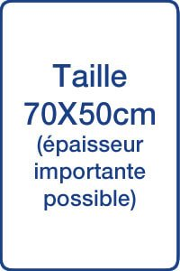 Sueurs Nocturnes Taie d'oreiller ultra absorbante anti-transpiration taille 70X50 cm